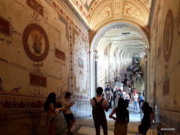 Museum Vatican hallways