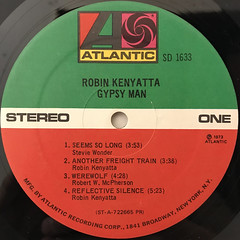 ROBIN KENYATTA:GYPSY MAN(LABEL SIDE-A)