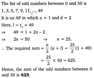 NCERT Solutions for Class 10 Maths Chapter 5 Arithmetic Progressions 73