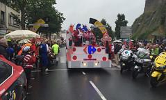 Carrefour, Tour de France advertising caravan - Photo of Saint-André-de-l'Épine