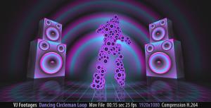dancing circleman