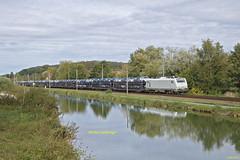 E 37523 Train Ile Napoléon-Gevrey à Colombiers-Fontaine
