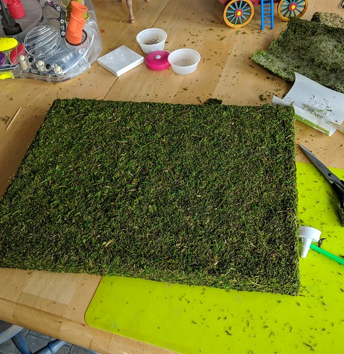 diorama grass