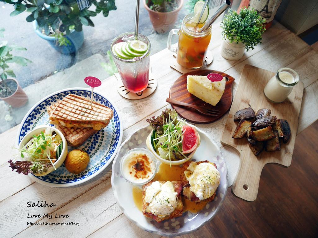 台北農安街行天宮附近餐廳美食推薦遇見美好早午餐咖啡廳 (4)