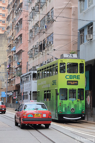 Tramways at Kennedy Town Terminus