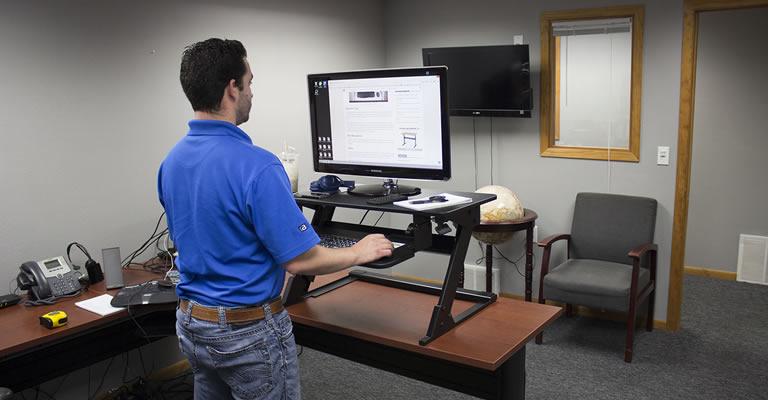 4. Adjustable Converter Desks
