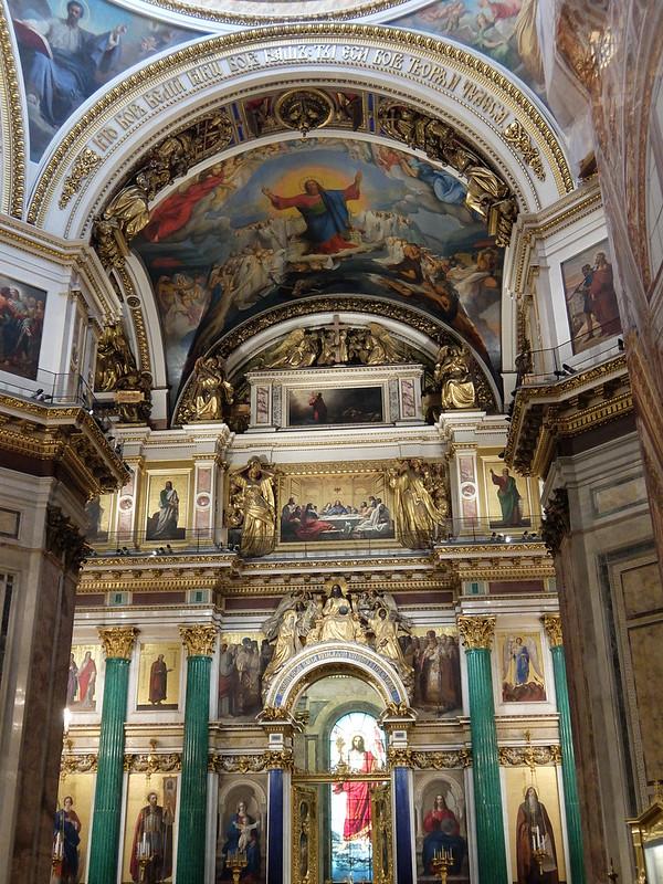 Санкт-Петербург - Исаакиевский собор внутри
