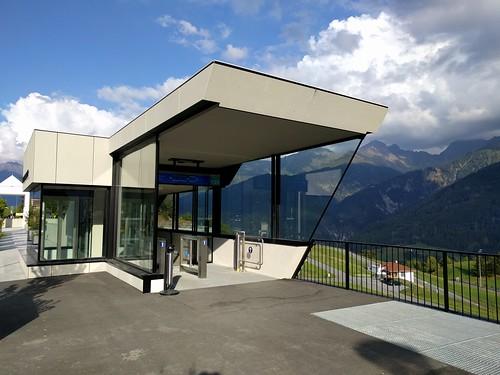 Metro Entrance in the mountains