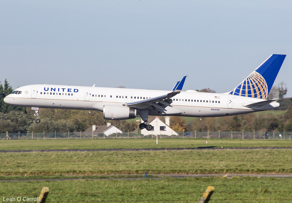 United B757 N34131