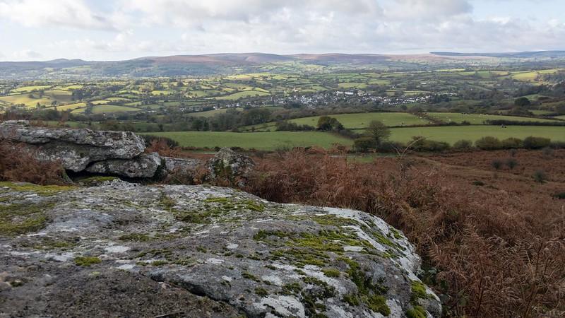 Mardon Down Rocks (north) view