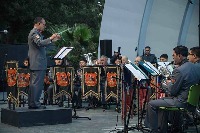 Concierto Banda instrumental de la Brigada Maule