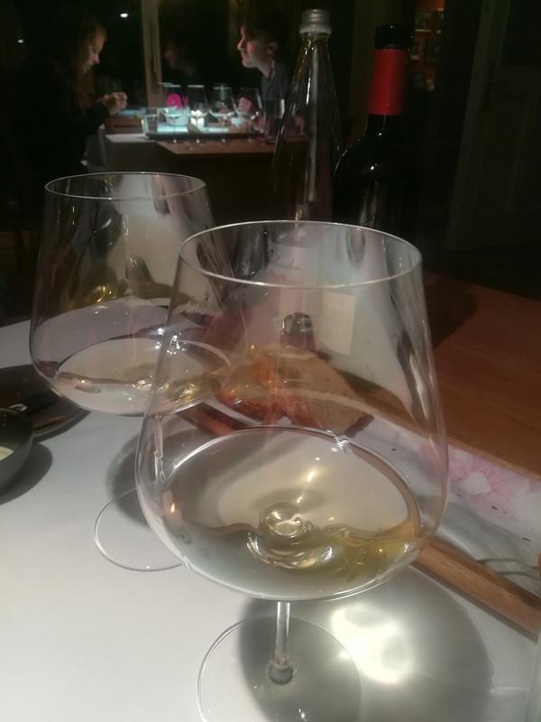 Wijn bij Hiša Franko