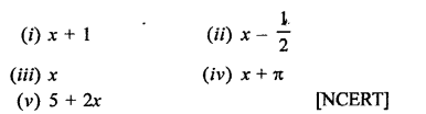 RD Sharma Class 9 Solutions Chapter 6 Factorisation of Polynomials