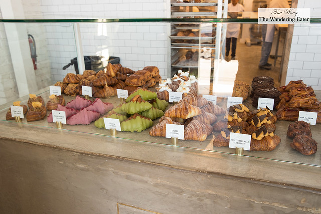 Pastry case filled with photogenic (and delicious pastries)