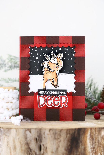 Merry Christmas, deer!