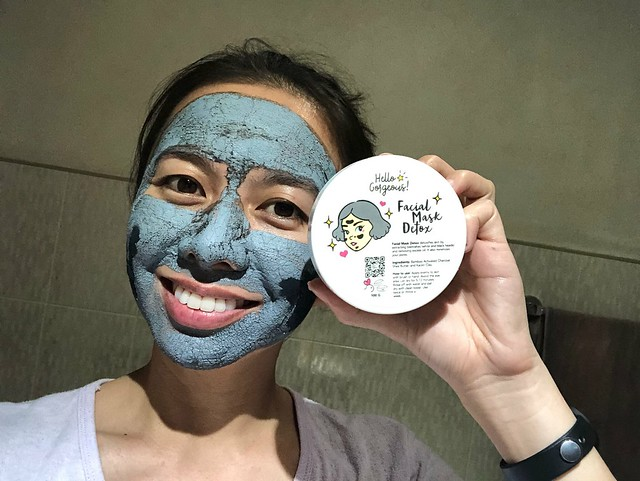 hello gorgeous detox facial mask review