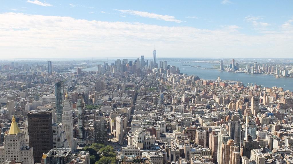 NYC desde el Empire State