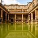 Roman Bath, England by tonyg1494