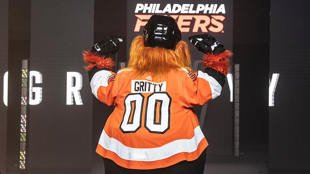 Flyers' new mascot, Gritty, is exactly what we need