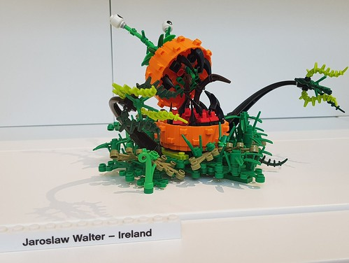 Funny pumpkin in The LEGO House