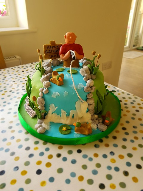 Cake by Sarah Martin of Scrummy's Cakes
