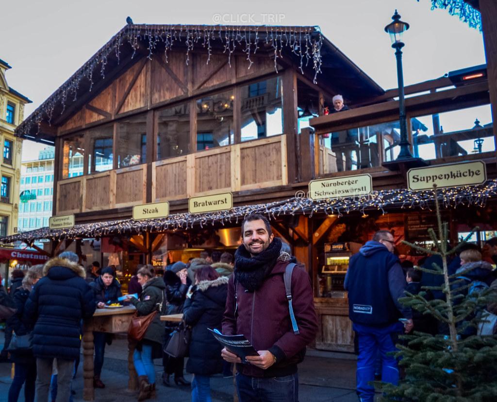 · Karlsplatz · Mercadillo de Navidad de Múnich ·