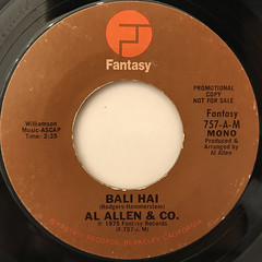 AL ALLEN & CO.:BALI HAI(LABEL SIDE-B)