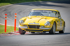 Wolds Trophy historic race meeting at Cadwell Park (May 2018)