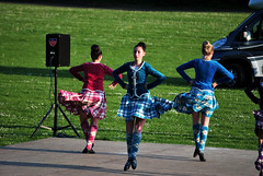 The highland dance