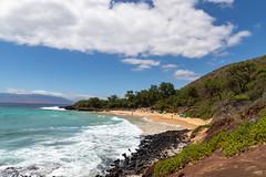 Hawaii Maui Makena Little Beach bay