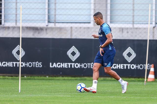 Treino Grêmio 21/09/2018