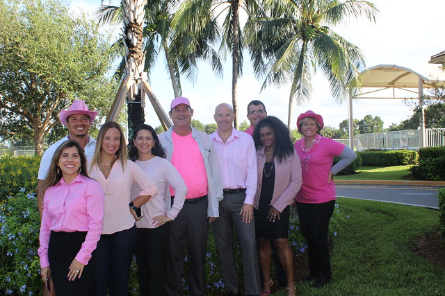 Weston Staff Go PINK