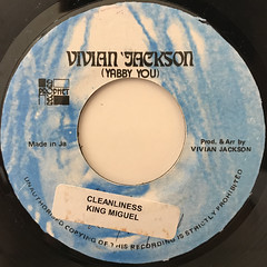 KING MIGUEL:CLEANLINESS(LABEL SIDE-A)