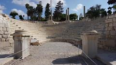 The Roman Amphitheater, the al-Dikka ('Mound of Rubble'), Alexandria, Egypt.