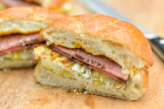 Pork Roll Breakfast Sandwiches