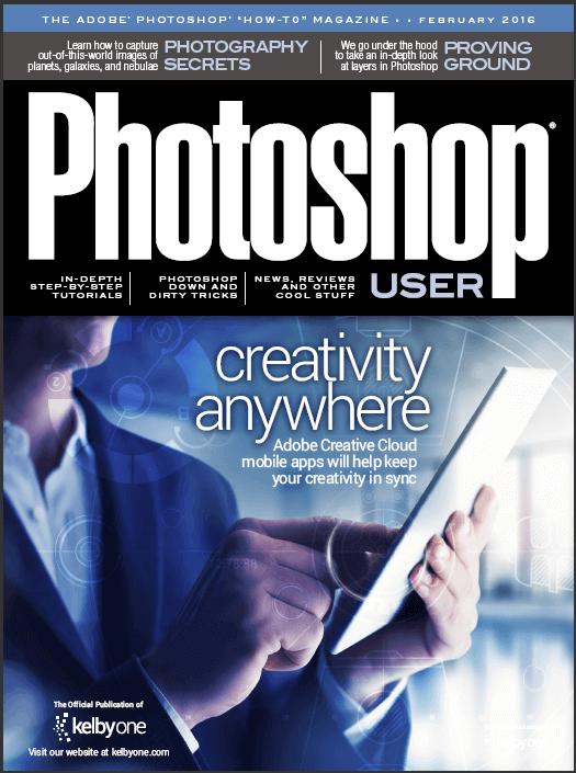"""The magazine """"Photoshop User"""" – February 2016 (English)"""