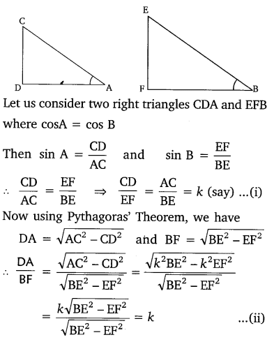 NCERT Solutions for Class 10 Maths Chapter 8 Introduction to Trigonometry 8