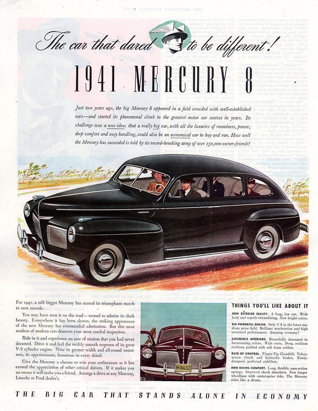 1941 Mercury 8