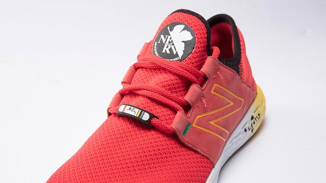穿上它們就可以立馬「暴走」啦~ New Balance ×《新世紀福音戰士》FRESH FOAM CRUZ 主題鞋款 初號機、2號機、8號機參戰!