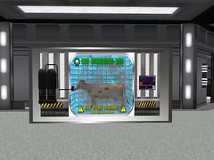 Livestock Cryo chamber In the Cargo Bay