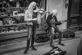 Fiddler-bw