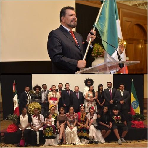 Conmemoración del 208º Aniversario de la Independencia de México