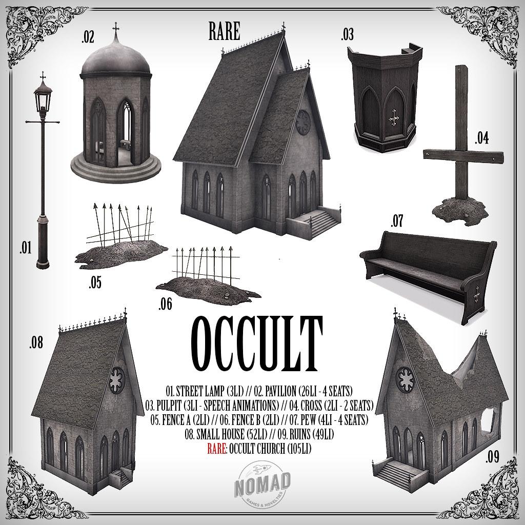 NOMAD // Occult - TeleportHub.com Live!
