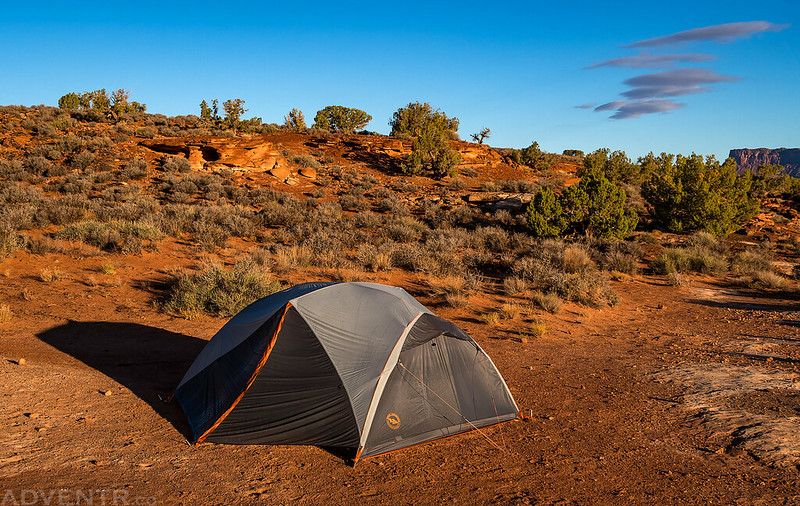 Lockhart Camp Morning