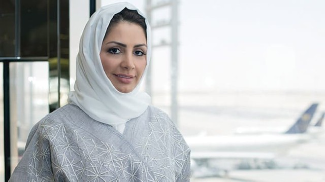 3562 Hind Al-Zahid, the first Saudi Woman to be appointed as a Head of a Saudi Airport 02