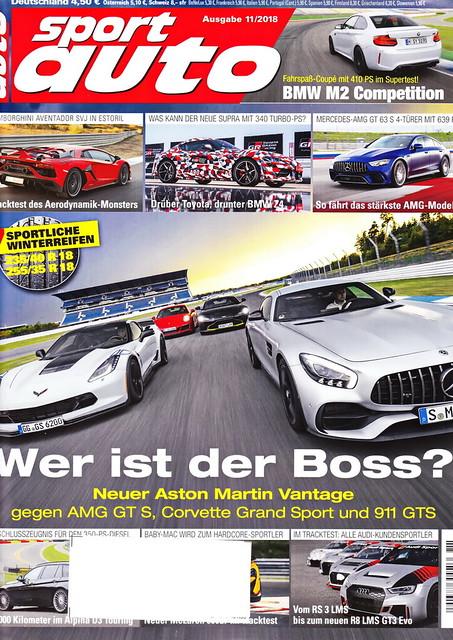 sport auto - 2018-11 - cover