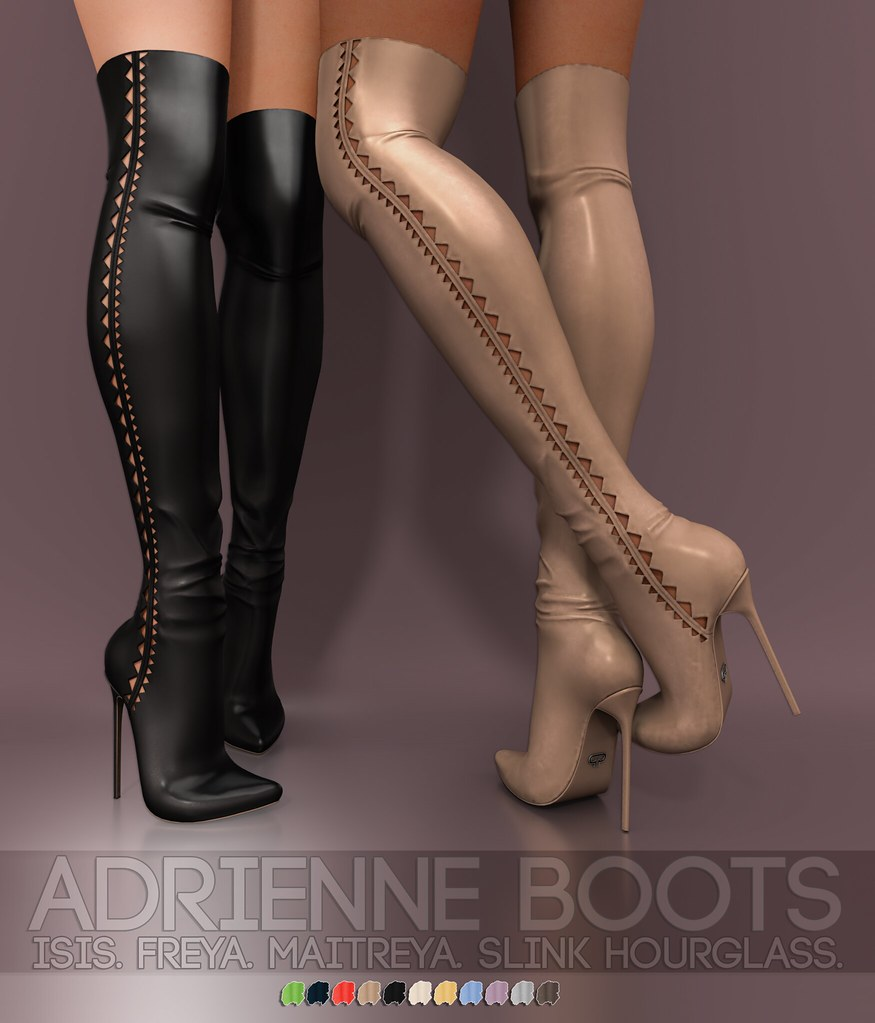 Pure Poison – Adrienne Boots AD