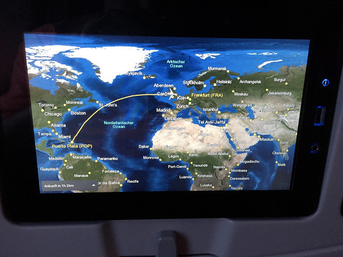 Reaching Europe with Condor Airlines