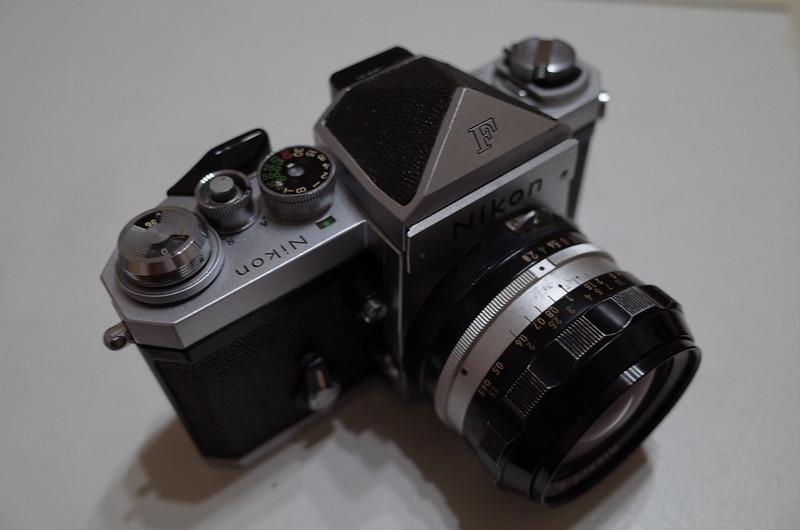 Nikon Fアイレベルファインダー