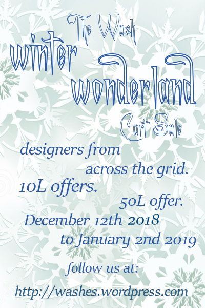 winter wonderland cart sale Dec 2018